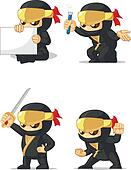 Ninja Customizable Mascot 2