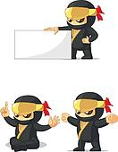 Ninja Customizable Mascot 13