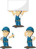 Technician or Repairman Mascot 8