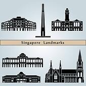 Singapore landmarks and monuments