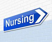 Nursing concept.
