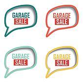 garage sale labels