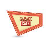 garage sale label