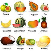 collection of fruits 2