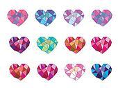 set geometry heart
