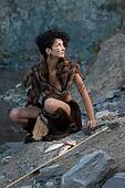 cavewoman and her capture