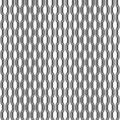Design seamless monochrome lattice pattern