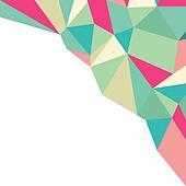 Geometric Polygonal Pattern, Backgr