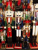 Rows of Nutcrackers