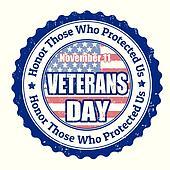 Veterans Day stamp
