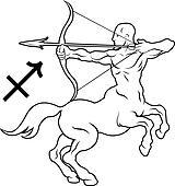 Centaur Clip Art - Royalty Free - GoGraph