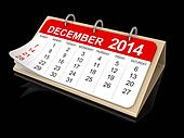 Calendar -  december 2014