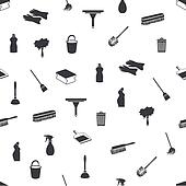 seamless cleaning icons