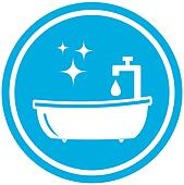bathroom icon - hygiene symbol