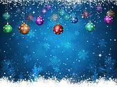 Winter Christmas Balls