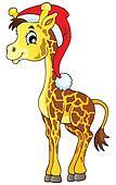 Christmas animal theme image 1