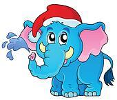 Christmas animal theme image 2