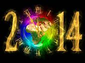 Happy new year 2014 - PF 2014 - Europe, Asia and Africa