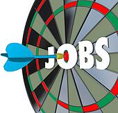 Jobs Career Dartboard Dart Successful Employment