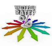 What's Your Rate Percent Sign Interest Investment Return