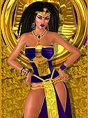 Purple princess of ancient Egypt