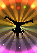 Flyer 1 - Breakdancer Spin
