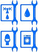 icons for plumbing repair