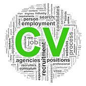 Wordcloud CV word tags