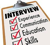Interview Checklist  Job Candidate Requirements
