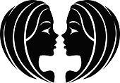 Black Gemini Zodiac Star Sign