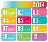 2013 Calendar Design template
