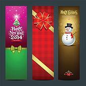 Happy New Year 2014 banner design