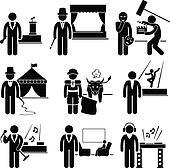Entertainment Artist Job Occupation