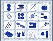 Sewing, Tailoring, Knit, Craft Icon