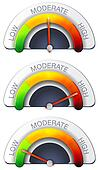 Performance Meter - Stock Image
