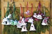 jingle bells as xmas decoration