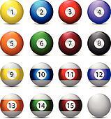 Realistyc Billiard Balls