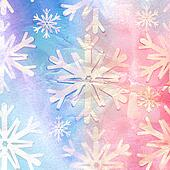old background with snowflakes