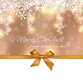 Merry Christmas cute gift greeting