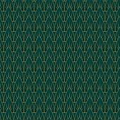 Art Deco Leaves Pattern