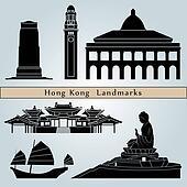 Hong Kong landmarks and monuments