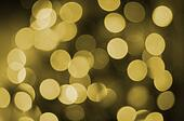 Christmas and new year background with bokeh lights