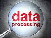 Data Processing with optical glass