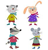 Pets  Cartoon characters
