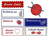 Crochet Sewing Labels