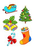 Christmas objects 2