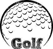 Grunge-style Golf Design