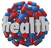 Health Medicine Pill Capsule Ball Sphere