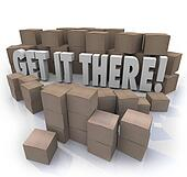 Get It There Shipping Cardboard Boxes Fast Shipment