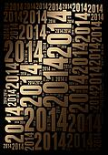 2014 Year background